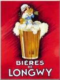 Bieres De Longwy Tin Sign