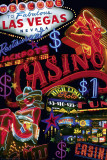 Las Vegas - Casino Signs Prints