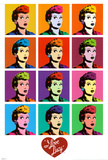 I Love Lucy - Pop Art Psteres