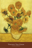 Van Gogh - Sunflowers Psters por Vincent van Gogh