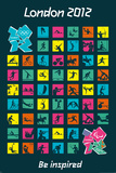 London 2012 Olympics (Pictograms) Posters