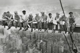 Stavební dělníci na Manhattanu Obrazy