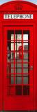 Londýn - telefonní budka Plakát