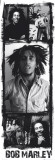 Bob Marley - Photo Collage Kunstdrucke