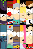 South Park - Superheroes Print