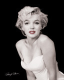 Marilyn Monroe - Red Lips Affiches