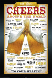 Cheers Around The World Posters