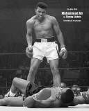 Muhammad Ali - v Liston Portrait Prints