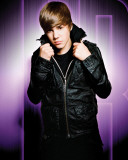 Justin Bieber (Purple) Photo