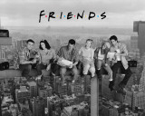 Friends - Lunch on a Skyscraper Posters