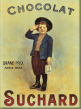 Chocolat Suchard Tin Sign