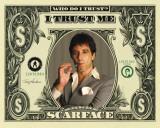 Scarface på dollarseddel Billeder