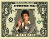 Scarface - Dollar Bill Prints
