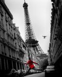 chaqueta roja, La|Veste Rouge, La Lámina