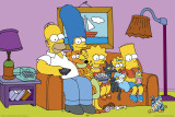 Simpsons - Couch Print