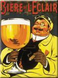 Biere de L' Éclair Blikskilt
