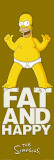 Simpsons - Fat And Happy Foto