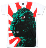 Godzilla - Rising sun flag T-shirts
