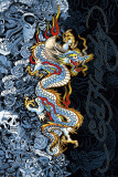 Ed Hardy - Blue Dragon Posters by Ed Hardy