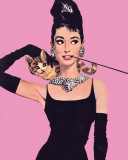 Audrey Hepburn - Pink Posters
