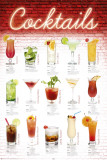 Cocktails - English Psteres