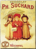 Chocolat PH. Suchard Tin Sign