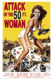 Attack Of The 50Ft Woman Print