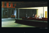 Nighthawks - Edward Hopper Affiche