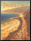 Pacific Coast Mounted Print by Kerne Erickson