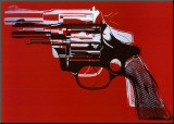 Guns, c.1981-82 Mounted Print by Andy Warhol