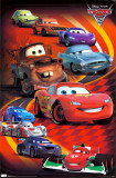 Cars 2 - Group Prints