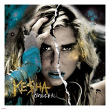 Ke$ha - Cannibal Stretched Canvas Print
