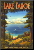 Lake Tahoe Mounted Print by Kerne Erickson
