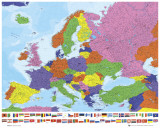 European Map Posters