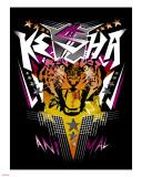 Ke$ha Stretched Canvas Print