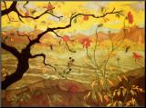 Apfelbaum mit roten Früchten, ca. 1902 Aufgezogener Druck von Paul Ranson