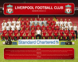 Liverpool - Team Photo 10/11 Posters