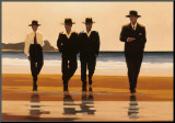 Billy Boys Mounted Print by Jack Vettriano