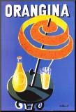 Orangina Umocowany wydruk autor Bernard Villemot