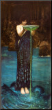 Circe Invidiosa Mounted Print by John William Waterhouse