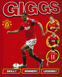 Manchester United - Giggs 10/11 Prints
