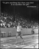 Steve Prefontaine: The Gift Opspændt tryk
