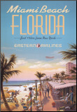 Miami Beach Mounted Print by Kerne Erickson
