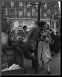 Paris, 1950 Mounted Print by Robert Doisneau