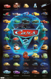 Cars 2 - Grid Print