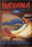 Havanna Monterat tryck av Kerne Erickson