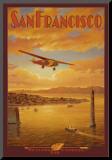 Western Air Express, San Francisco, Kalifornien Monterat tryck av Kerne Erickson