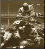 Lag på lag: Redskins mot Giants, ca. 1960 Montert trykk av Robert Riger