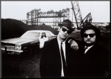 Blues Brothers Mounted Print
