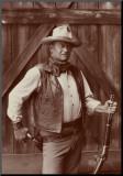 Bob Willoughby - John Wayne - Arkalıklı Baskı